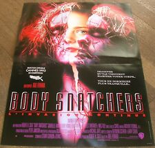 BODY SNATCHERS - Abel Ferrara - SET 6 PHOTOS D'ÉPOQUE + AFFICHE 40CM/60CM (1993)