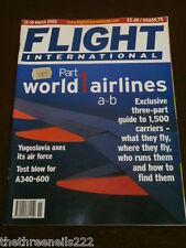 FLIGHT INTERNATIONAL # 4822 - A340-600 TEST - MARCH 12 2002