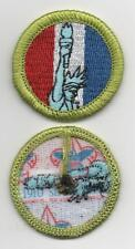 """American Heritage Merit Badge, Type L, """"Since 1910"""" Back (2013-Current), Mint!"""