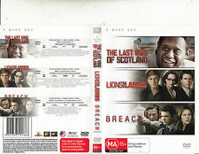 The Last King of Scotland-2008-Forest Whitaker/Breach/Lions For Lambs-Movie-DVD