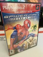 Spider-Man: Friend Or Foe (PlayStation 2, 2007) Complete Greatest Hits VeryGood!