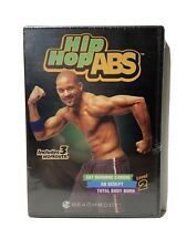 Hip Hop Abs Level 2 New Sealed Dvd 3 Workouts Total Body Burn/Ab Scupt/Fat Burn