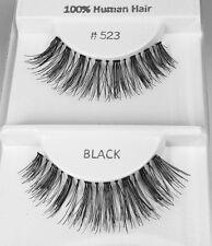 3 PR #523 High Fashion! Drag Queen, Showgirl, Cross Dresser, Real Hair Eyelashes