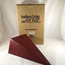 Southern Living At Home Red Sassy Wall Sconce #40404