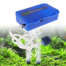Aquarium Oxygen Air Pump Fish Tank R-101 Single Output Battery Portable Aerator