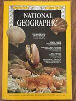 NATIONAL GEOGRAPHIC MARCH 1969 Sea Shells S. Korea Door WI Elephants Foxes