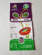 Coleccionista used ticket UEFA Euro 2012 #31 final Spain Italy España Italia