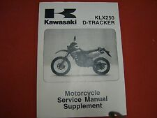 1999-2005 Kawasaki KLX250 & D-Tracker Service Manual Supplement