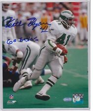 KEITH BYERS PHILADELPHIA EAGLES SIGNED 8X10 PHOTO INSCRIBED GO EAGLES STEINER