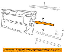 AUDI OEM 00-01 A4 Quattro FRONT DOOR-Body Side Molding Left 8D0853953BGRU