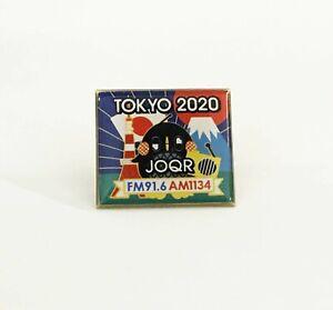 Olympic TOKYO 2020 JQOR Media badge pin