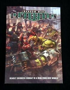 GW Games Workshop Shadow War: Armageddon Tabletop Game NEW!!