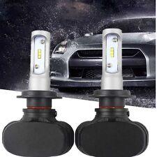2x Philips H7 180W 18000LM LED Headlight Kit Single Beam Bulbs White Power 6500K
