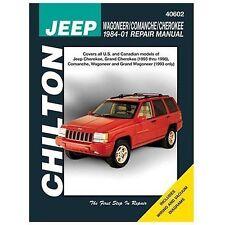 Chilton Jeep Wagoneer/Comanche/Cherokee 1984-01 Repair Manual (40602)