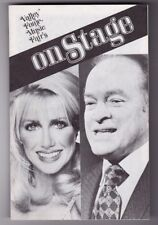 Vintage Valley Forge Music Fair Program Suzanne Somers & Bob Hope On Stage