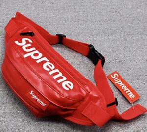 SUPREME FANNY PACK BAG RED