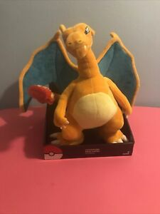 Pokemon Charizard 13-Inch Deluxe Plush Tomy Go New in Box Action Figure Toy Rare
