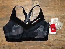 Women's Reebok Crossfit Hybrid Strappy Athletic Sports Bra Medium Support XS