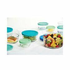 ANCHOR HOCKING 12027 Food Storage Set 20pc Blu/Grn