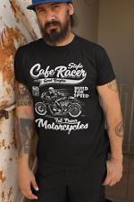 Camiseta Cafe Racer Moto Born Caballeros Race R80 Boxer Motocicleta Mc Regalo