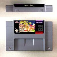 Pocky & Rocky All Series Game 16 bit Cartridge Console US Version Nintendo SNES