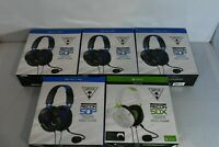 Lot of 5 Turtle Beach Recon 50P 50X Gaming Headsets Multi-Platform PS4 Xbox One