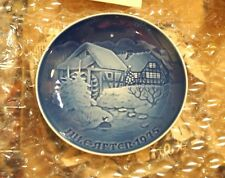 Bing & Grondahl Christmas Plate Jule After 1975 Christmas at the Old Watermill