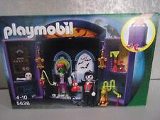 Playmobil 5638 Aufklapp-Spiel-Box Monsterburg (Halloween) - Neu & OVP