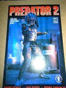 PREDATOR 2 #1 Dark Horse Comics 1991 Movie Adaptation NM w/Trading Card