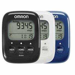 Omron Schrittzähler Walking Style IV mit Clip, Befestigungsband, OHNE Bluetooth