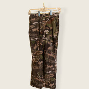 Under Armour Storm Camo Pants Youth Size 12 UA Camouflage Lightweight