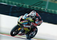 David Salom Hand Signed Kawasaki 7x5 Photo WSBK 8.