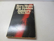 Nero Wolfe vintage 1975 The Golden Spiders vintage paperback by Rex Stout