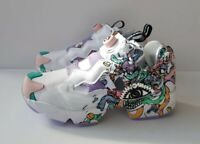 New with tags Reebok Insta Pump Fury Distortedd It's A Man's World Size 9 Uk