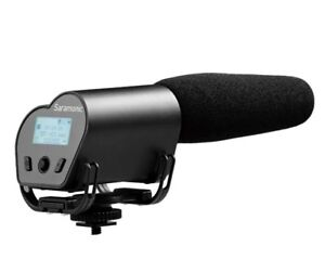 Saramonic VMIC-R Cardioid Shotgun Microphone w/ Built-in Recorder DSLR Camera