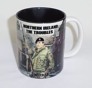 RTR NI Mug Royal Tank Regiment Northern Ireland Mug Troubles Op Banner Mug Cup