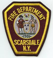 SCARSDALE NEW YORK NY FIRE PATCH