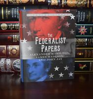 Federalist Papers Alexander Hamilton Madison John Jay New Deluxe Hardcover Gift