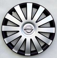 "Set of  4x 14"" wheel trims to fit  NISSAN MICRA, PIXO"
