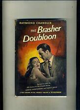 PHOTOPLAY 1ST ED-THE BRASHER DOUBLOON-RAYMOND CHANDLER 1946 MOVIE DJ-RARE HI GRD