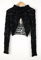 DESIGUAL Women Casual Knit Jumper Sweater Size M ASZ724