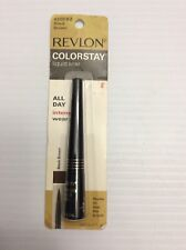 Revlon Colorstay Liquid Liner Black Brown .08oz 2.5ml 4209-02