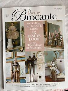 Loving Brocante Magazine. Vintage & Shabby Chic Faded Interiors Decorating. 3/21