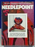 Needlepoint Better Homes and Garden Books Meredith Corp. 1978 HC