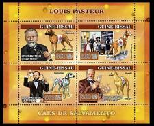 Guine Bissau 2007 MNH SS, Louis Pasteur, Dogs, Red Cross, Vaccination   -R21