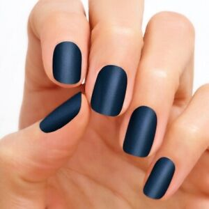 Color Street Nail Polish Strips Jewel of Mumbai HTF Retired Rare New Navy Blue