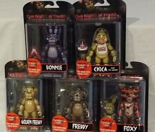 FIVE NIGHTS at FREDDY Funko NEW FNAF complete set 5 Action Figures + SPRING TRAP