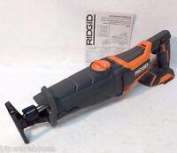 Ridgid R8642 NEW GEN5X 18V  Reciprocating Saw Sawzall - Bare tool