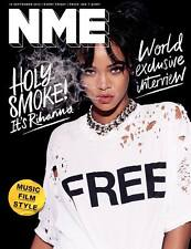 NME MAGAZINE SEPT 2015 RIHANNA CHVRCHES LANA DEL REY KEITH RICHARDS WOLF ALICE
