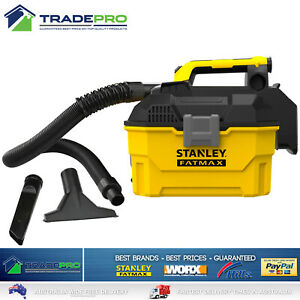 Stanley® Fatmax 18V V20 Vacuum Cleaner Wet & Dry Cordless Work Shop Kit PRO Vac